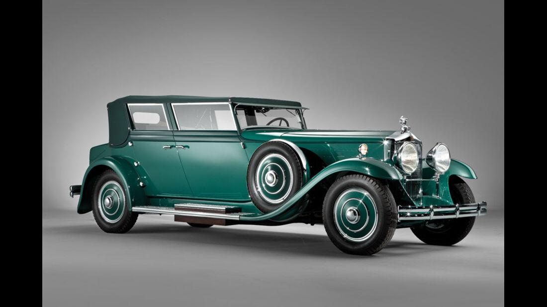 1931er Minerva 8 AL Convertible Sedan
