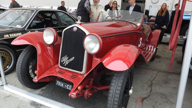 1932 Alfa Romeo Monza - Monterey Motorsports Reunion 2016 - Laguna Seca