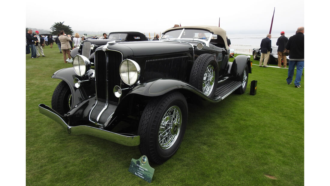 1932 Auburn 12-160A Speedster - Pebble Beach Concours d'Elegance 2016