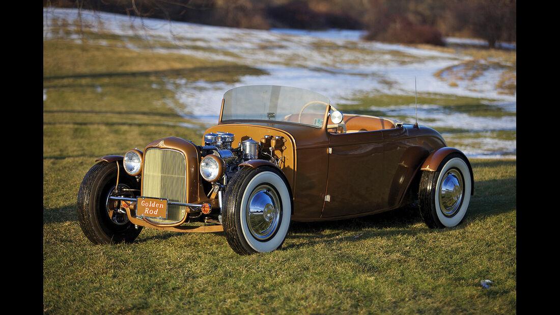 """1932 Ford """"Golden Rod"""" Custom Roadster"""