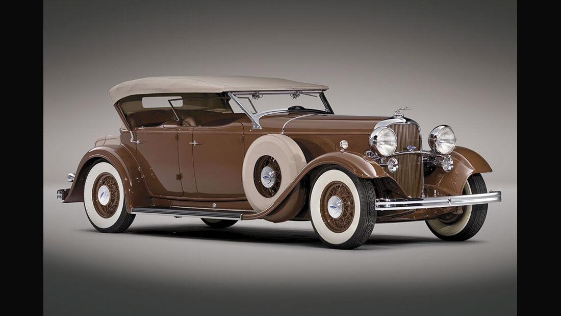 1932 Lincoln Model K Double Windshield Phaeton