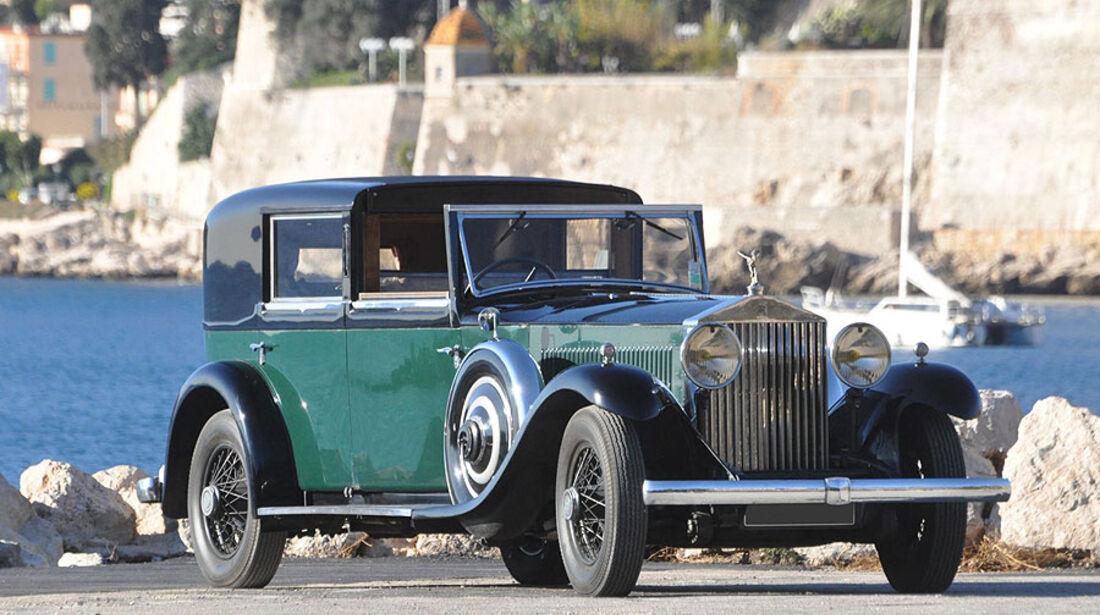 1932 Rolls Royce Phantom II coupé de ville Fernandez et Darrin