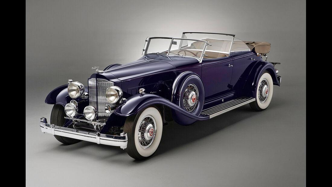 1932er Packard Individual Custom Twin Six Sport Phaeton by Dietrich Inc.