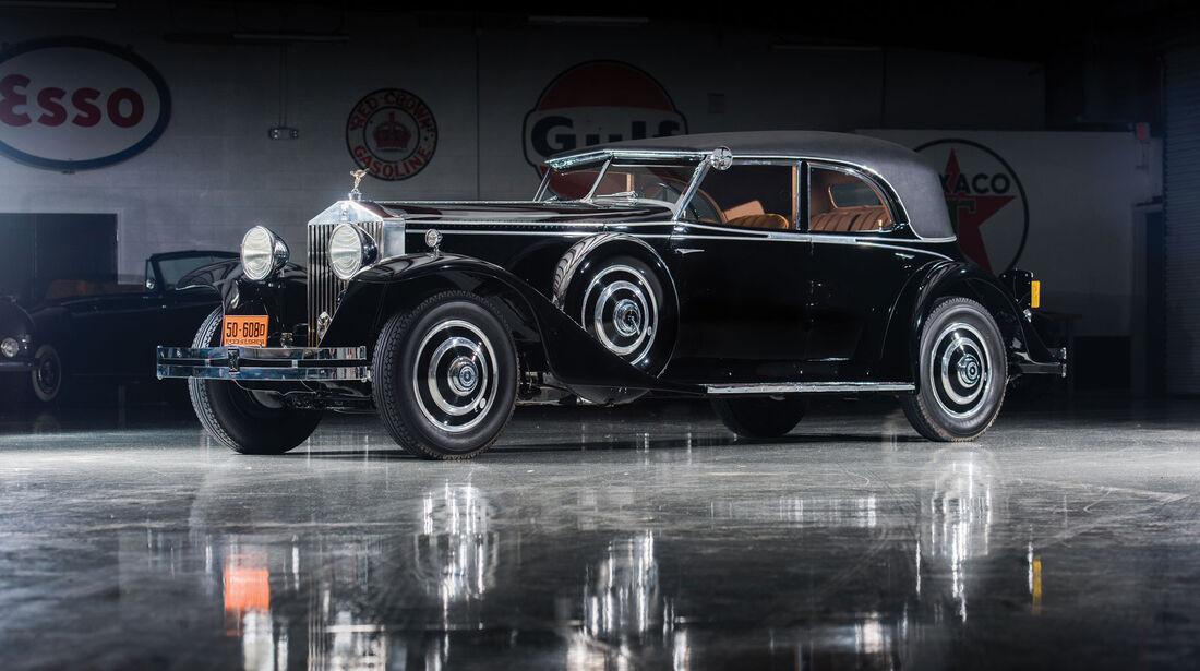 1933 Rolls-Royce Phantom II Special Newmarket Permanent Sedan by Brewster