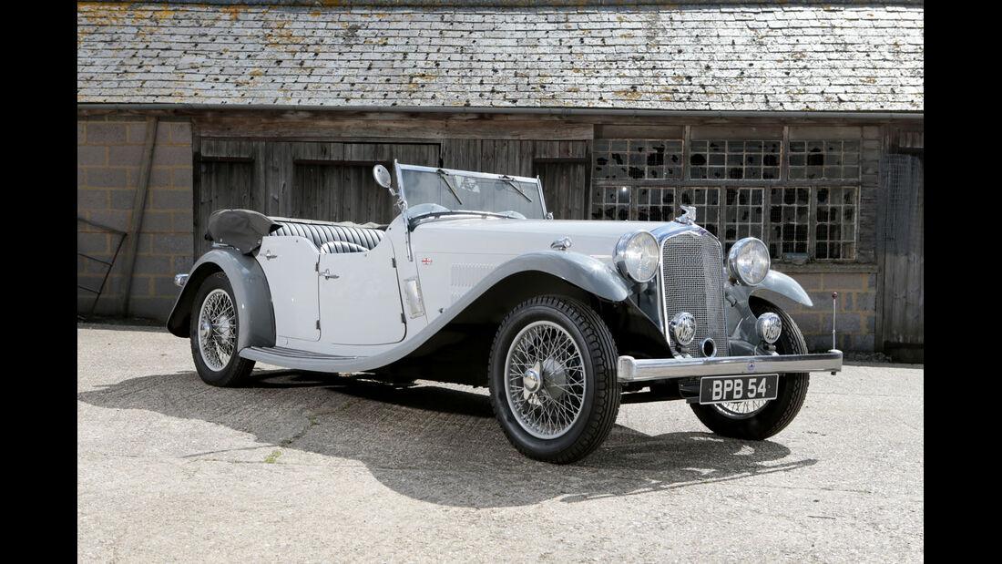 1933 Rover 14/6 Speed PiSports Tourer.