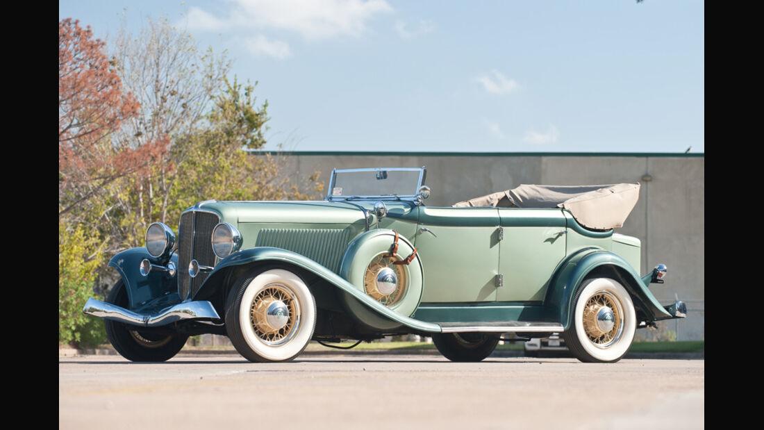 1933er Auburn Eight Salon Phaeton Sedan