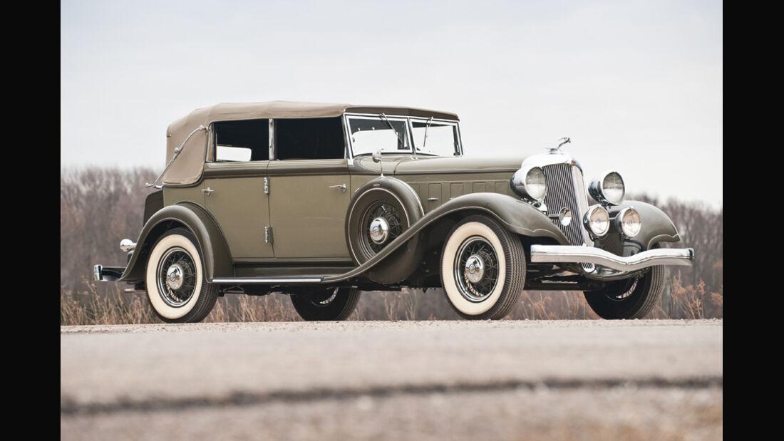 1933er Chrysler Imperial CQ Convertible Sedan