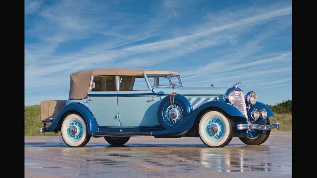 1933er Lincoln Model KB Convertible Sedan
