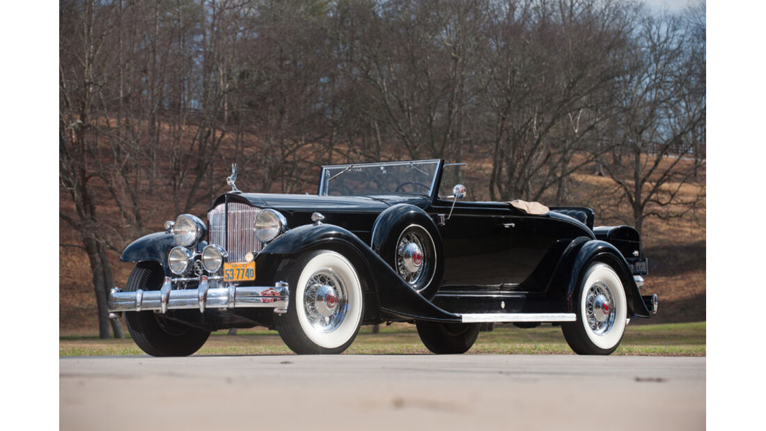 1933er Packard Twelve Coupe Roadster
