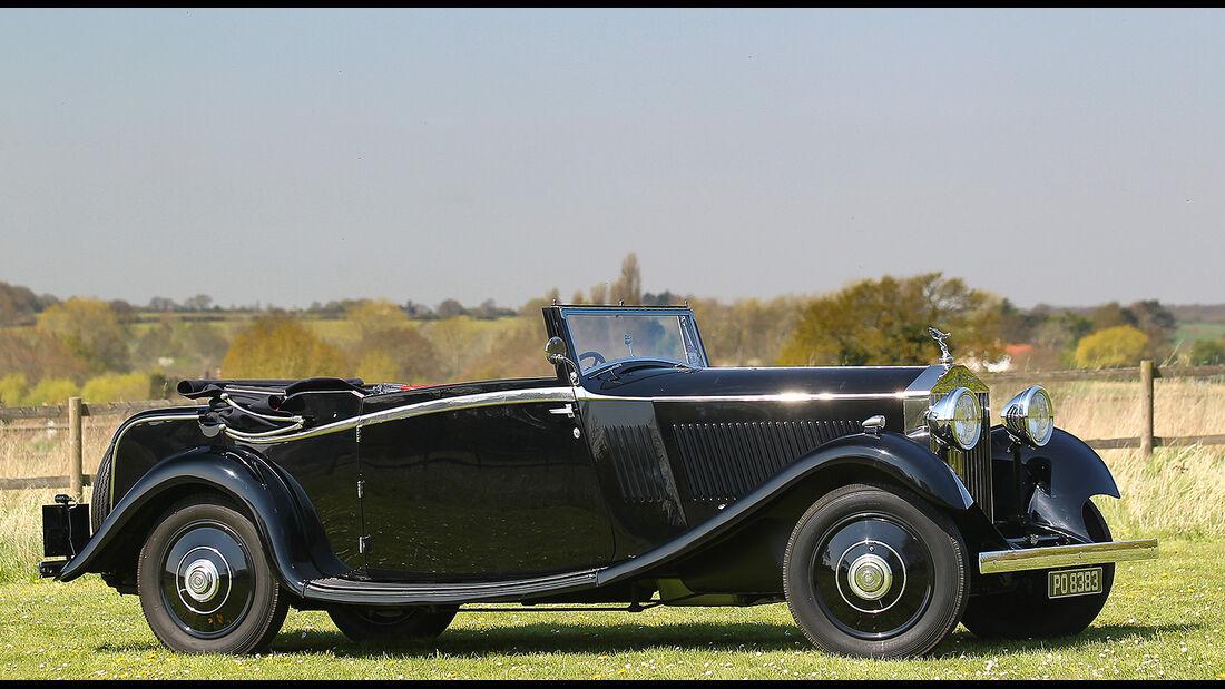 1933er Rolls-Royce 20/25 Drop Head Coupé