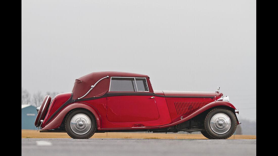1934 Bentley 3½-Litre Drophead Coupe by Park Ward