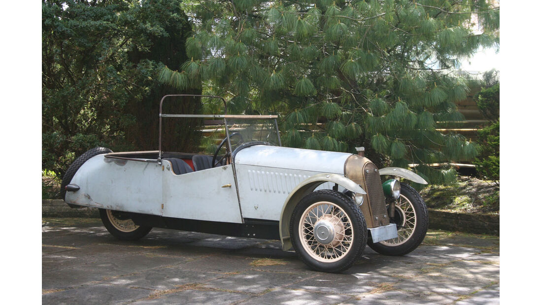 1934 Morgan Model F4 Project