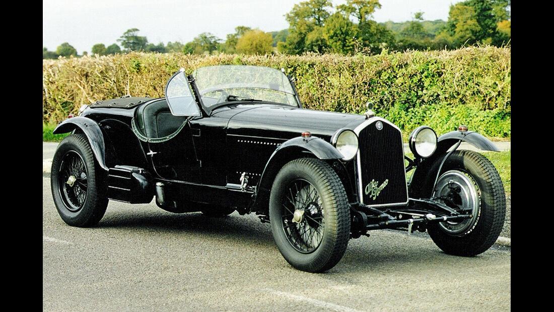 1934er Alfa Romeo 8C Le Mans