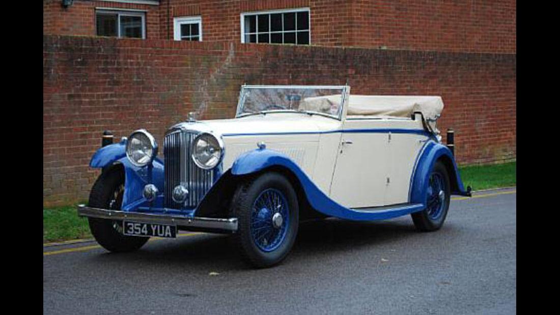 1934er Bentley 3½-Litre All-weather Tourer