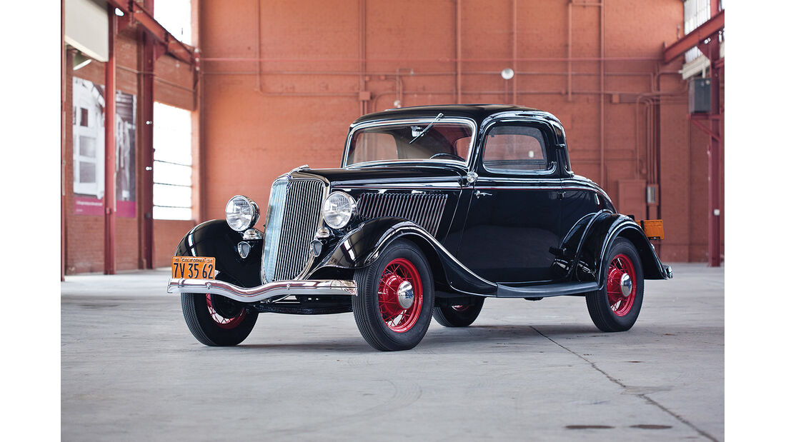 1934er Ford V-8 DeLuxe Three-Window Coupe