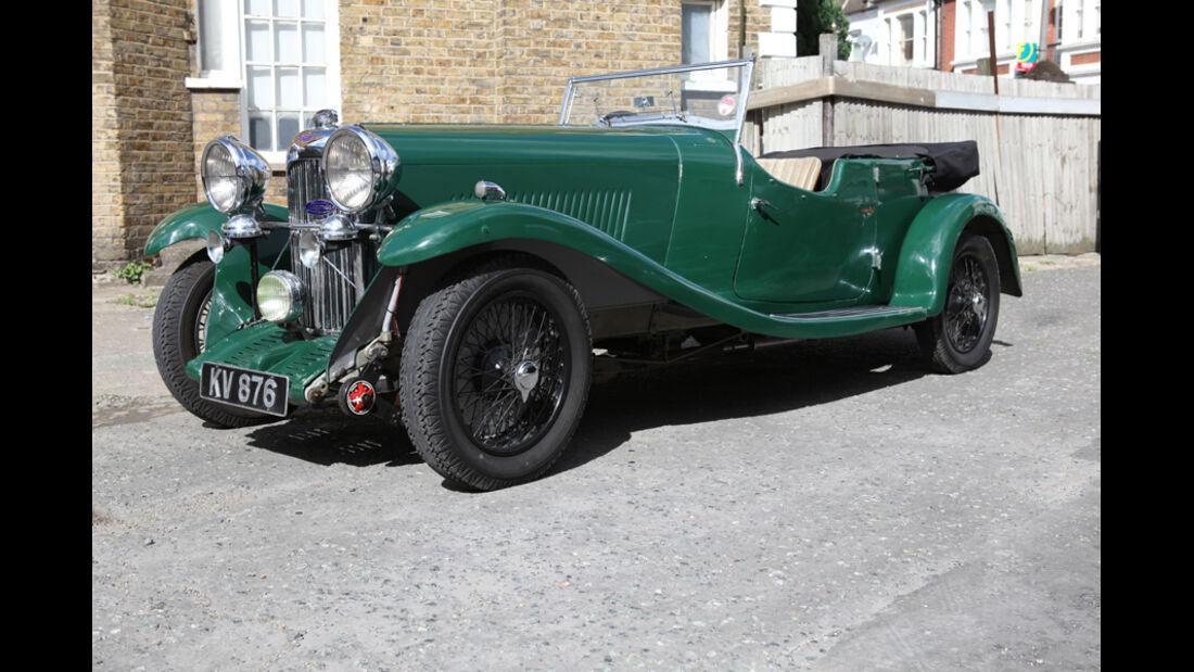 1934er Lagonda 16/80 Factory T7 Tourer