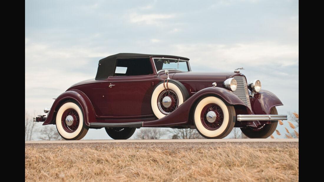 1934er Lincoln KA Convertible Roadster