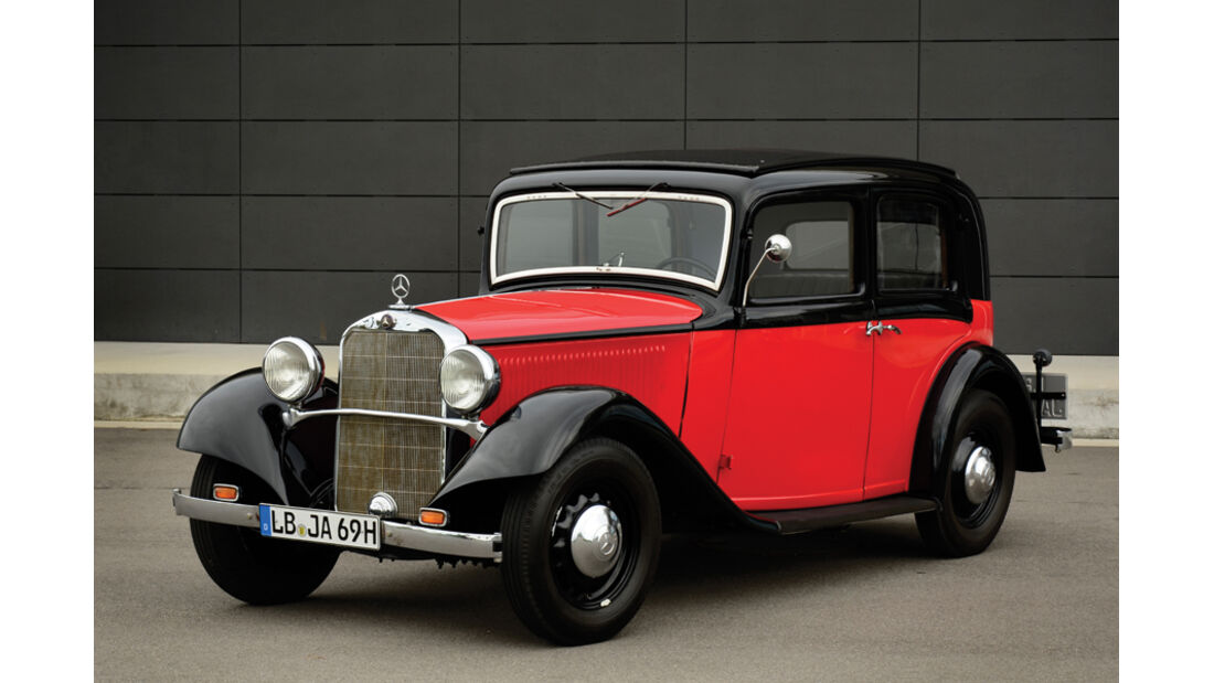"""1934er Mercedes-Benz 200 W21 """"Sonnenscheinlimousine"""""""