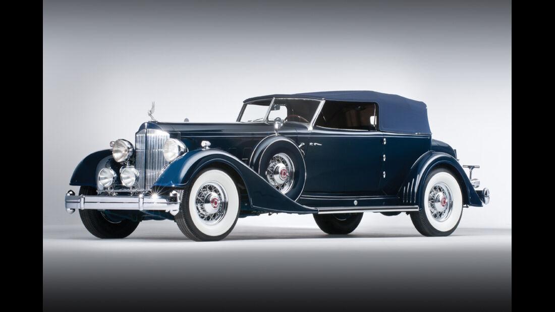 1934er Packard Twelve Convertible Victoria