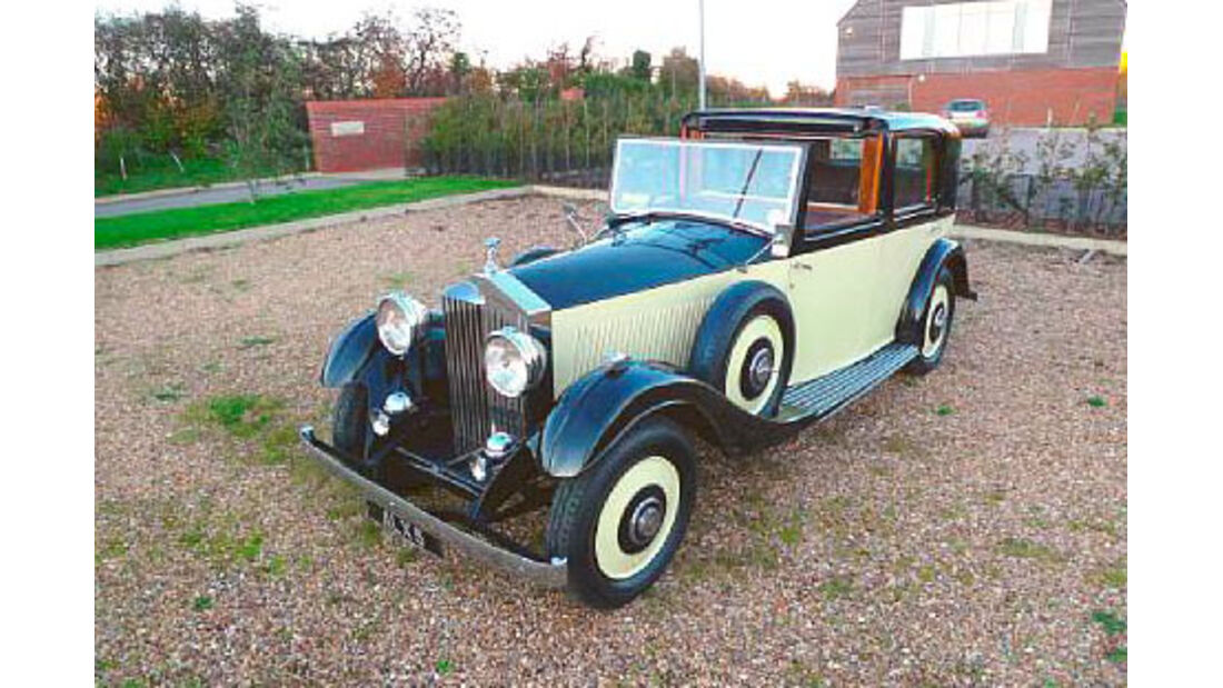 1934er Rolls-Royce 20/25hp Sedanca de Ville