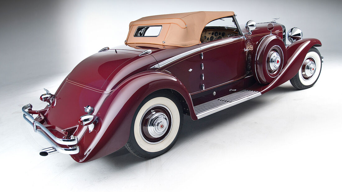 1935 Duesenberg Model SJ Convertible Coupe by Walker-LaGrande
