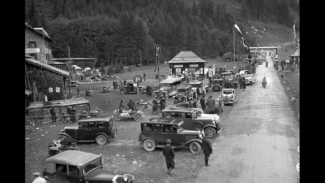 1935 Ferleiten nach Rennen