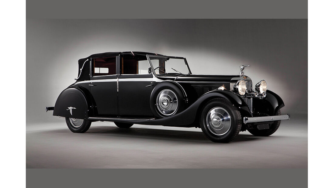 1935 Hispano Suiza J12 Sedanca de Ville