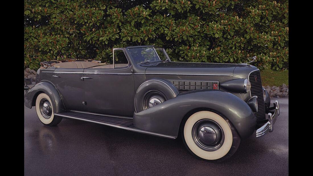 1936 Cadillac Series 75 Convertible Sedan