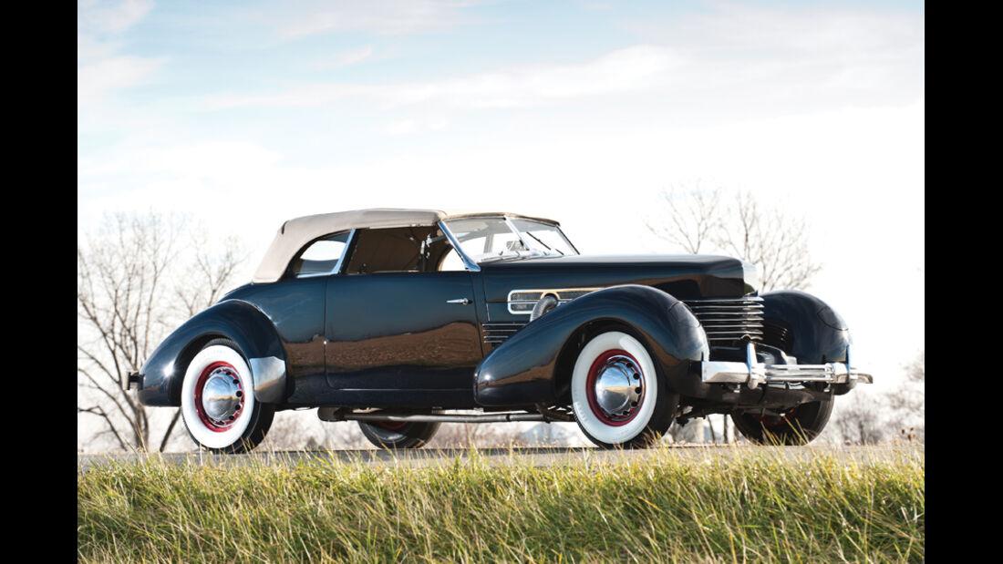 1936er Cord 810 Convertible Phaeton
