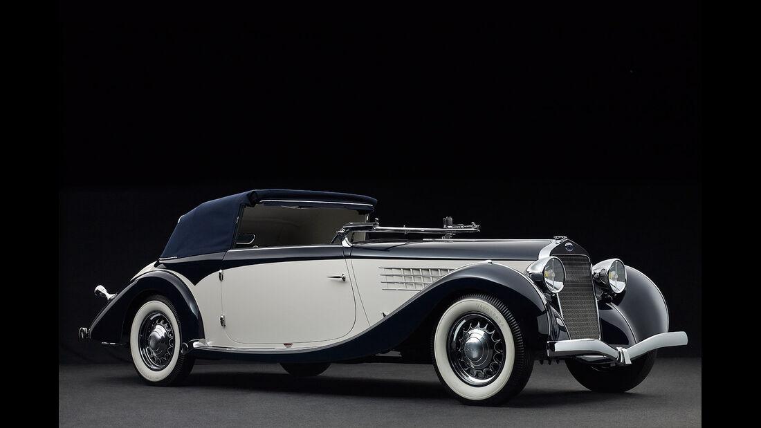 1936er Delage D6-70 Milord Cabriolet by Figoni et Falaschi