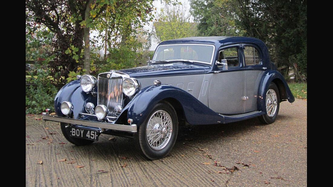 1936er MG SA Sports Saloon