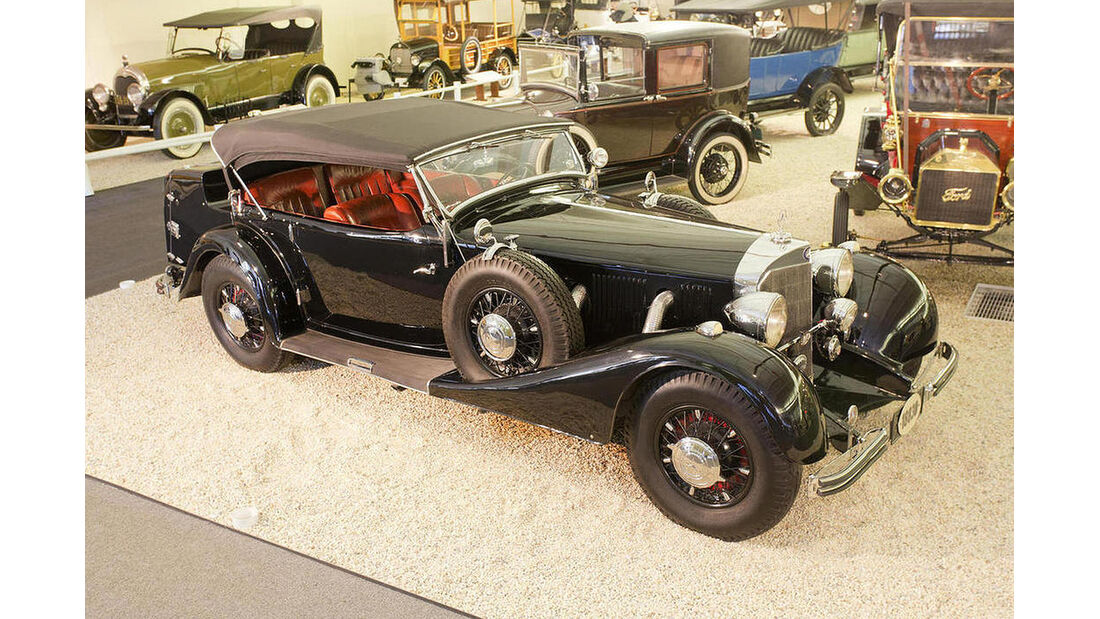 1936er Mercedes 500K Sports Phaeton