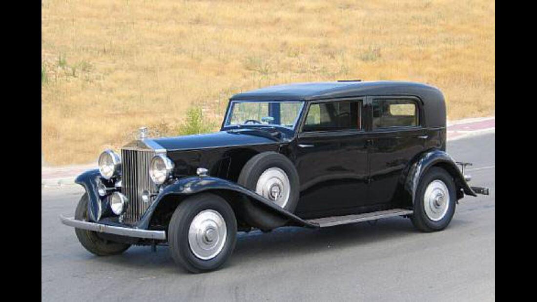 1936er Rolls-Royce Phantom III Five Passenger Limousine