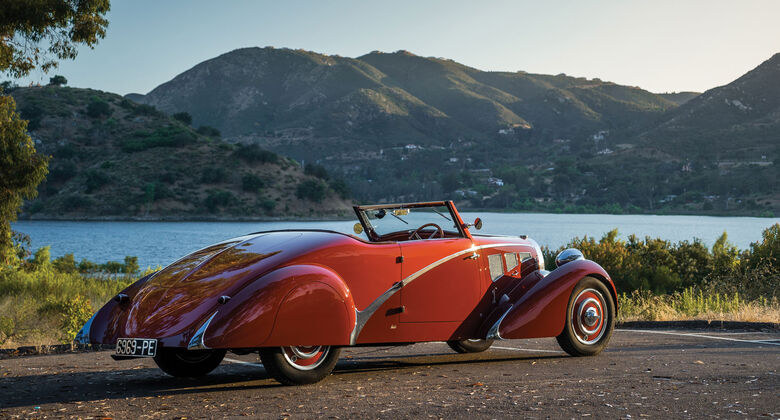 1937 Bugatti Type 57 Cabriolet - Monterey - Auktion - August 2017