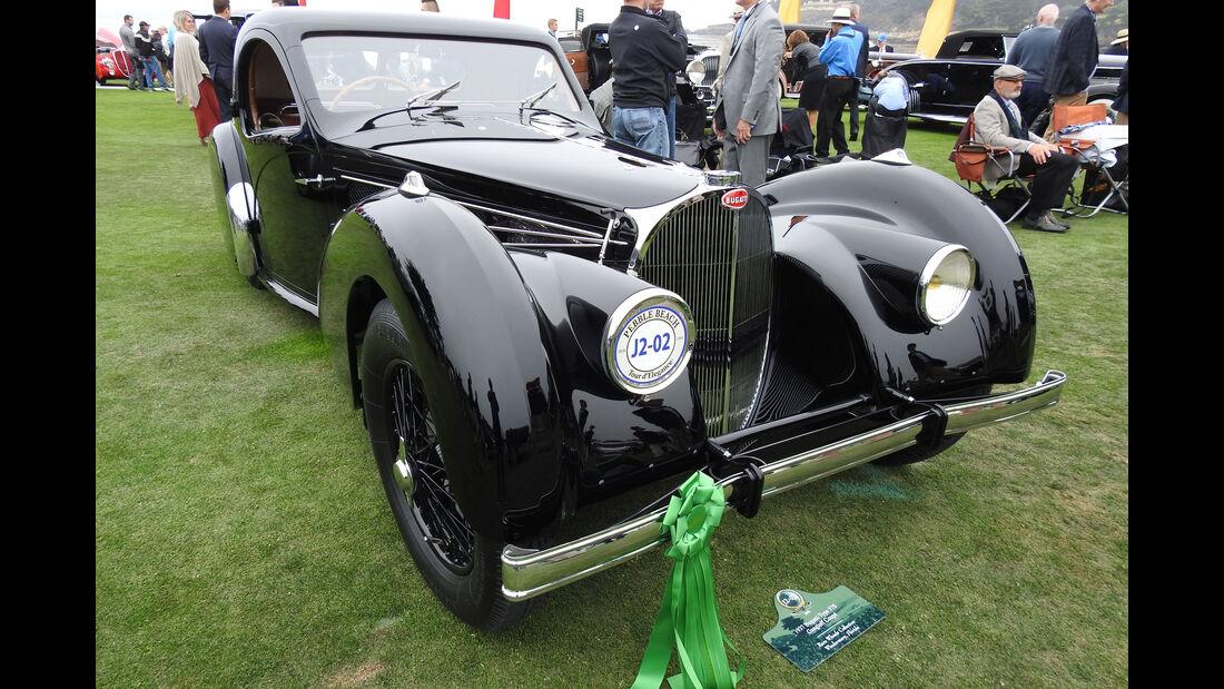 1937 Bugatti Type 57S Gangloff Coupé - Pebble Beach Concours d'Elegance 2016
