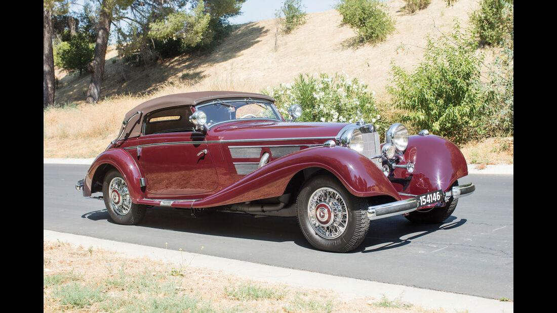 1937 Mercedes-Benz 540 K Sport Cabriolet A by Sindelfingen - Monterey - Auktion - August 2017