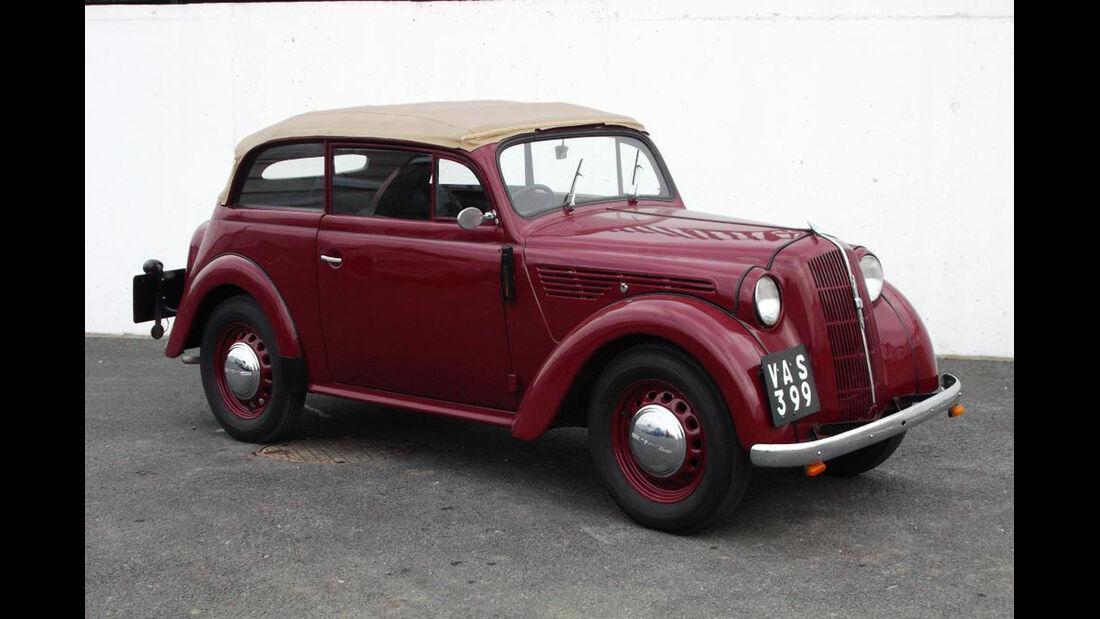 1937 Opel Kadett Cabriolet.