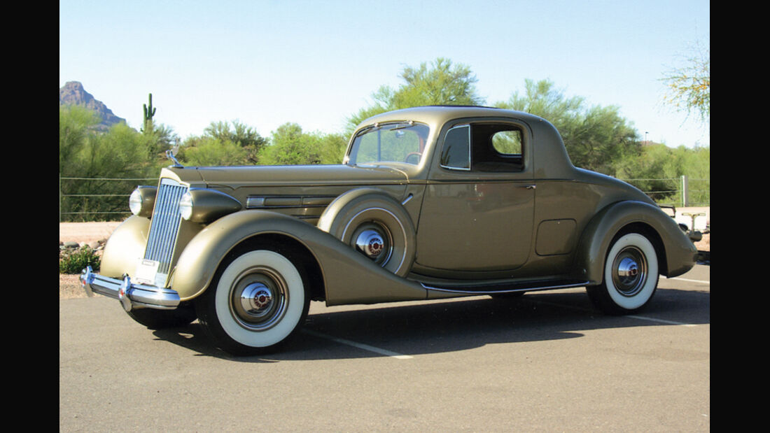 1937 Packard Twelve 2/4-Passenger Coupe