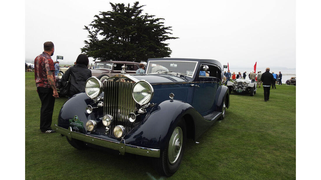 1937 Rolls-Royce Phantom III - Pebble Beach Concours d'Elegance 2016