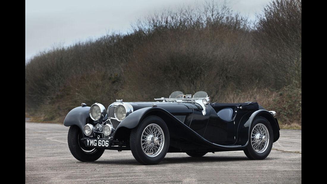 1937 SS Jaguar 100 2,5-Liter Roadster