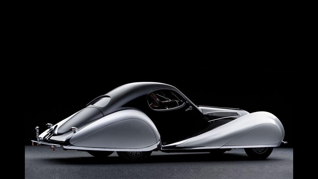 1937 Talbot-Lago T150-C SS Goutte d'Eau Coupé by Figoni et Falaschi