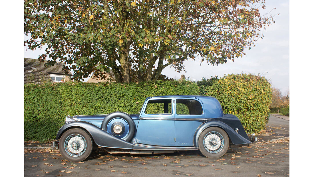 1937er Alvis 4.3 Litre Sports Saloon