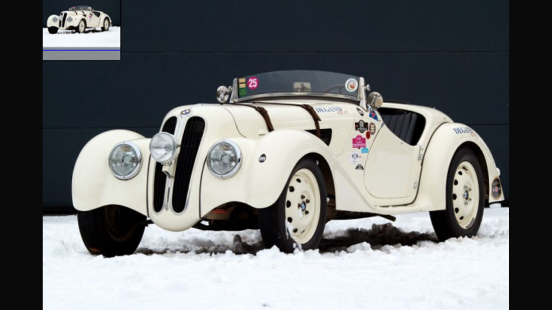 1937er BMW 328 Roadster