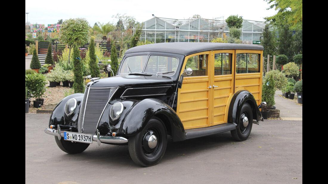 "1937er Ford Model 78 ""Woody"" Station Wagon"