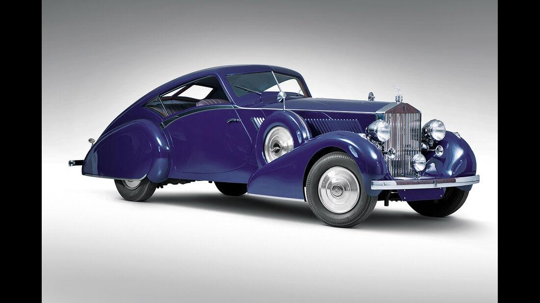1937er Rolls-Royce Phantom III Aero Coupe by Classic Auto Rebuilding Service