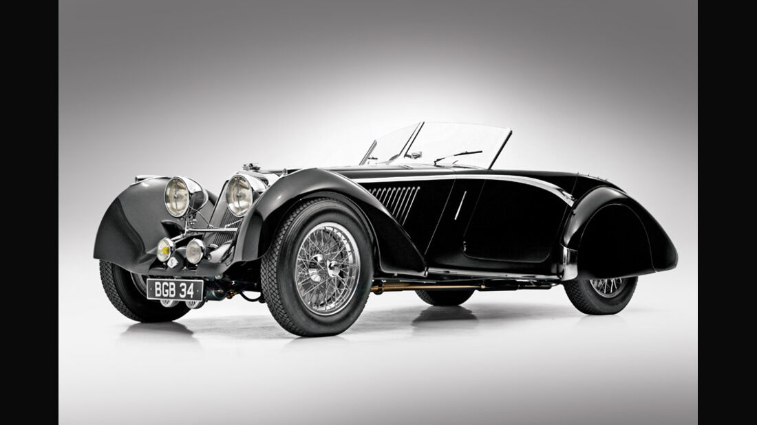 1937er Squire 1½-Liter Drophead Coupe