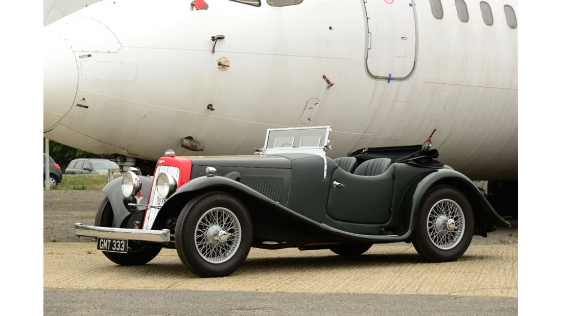 1938er Aston Martin 15/98 Open Sports Tourer