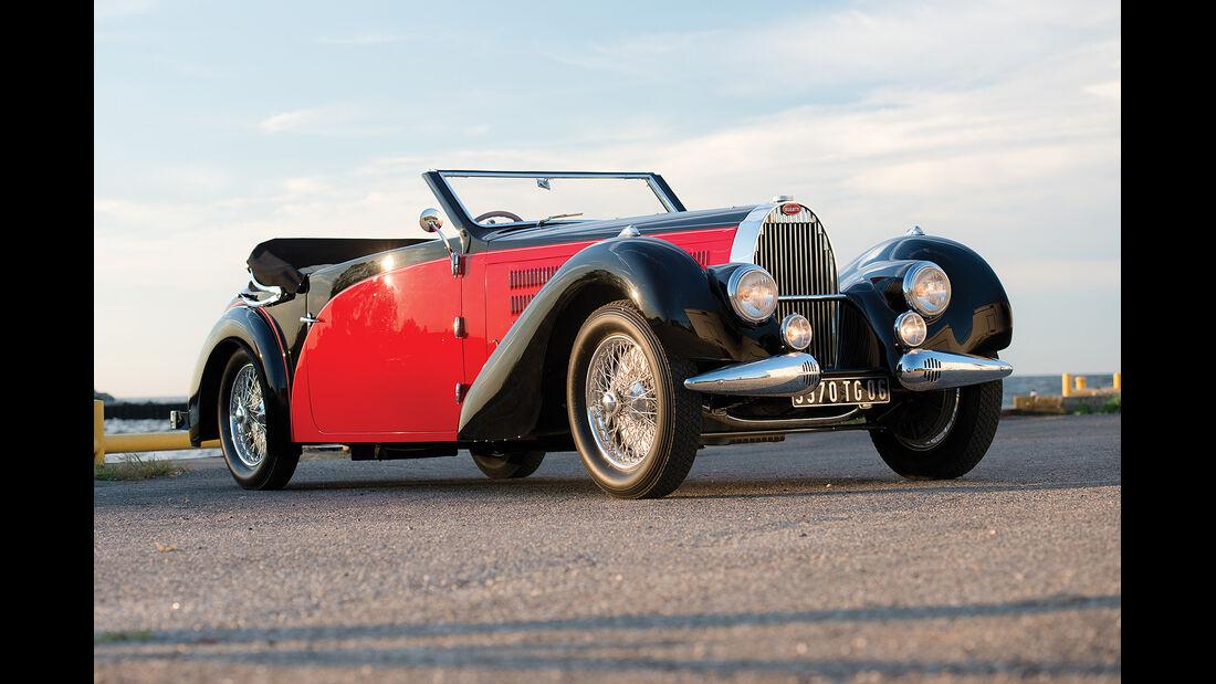 1938er Bugatti Typ 57 Stelvio Cabriolet