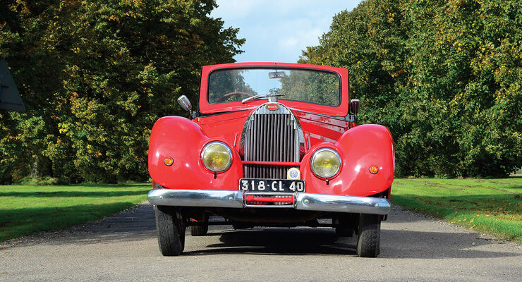 1938er Bugatti Type 57C Stelvio Drophead Coupe