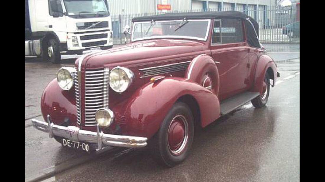 1938er Buick Special Series 40 Albemarle Drophead Coupé